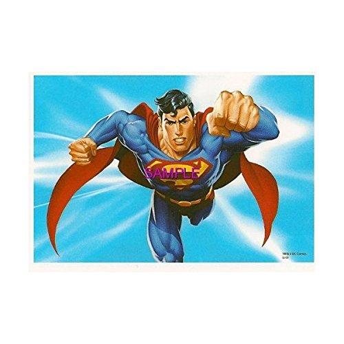 Superman Flying ~ Edible Image Cake / Cupcake Topper