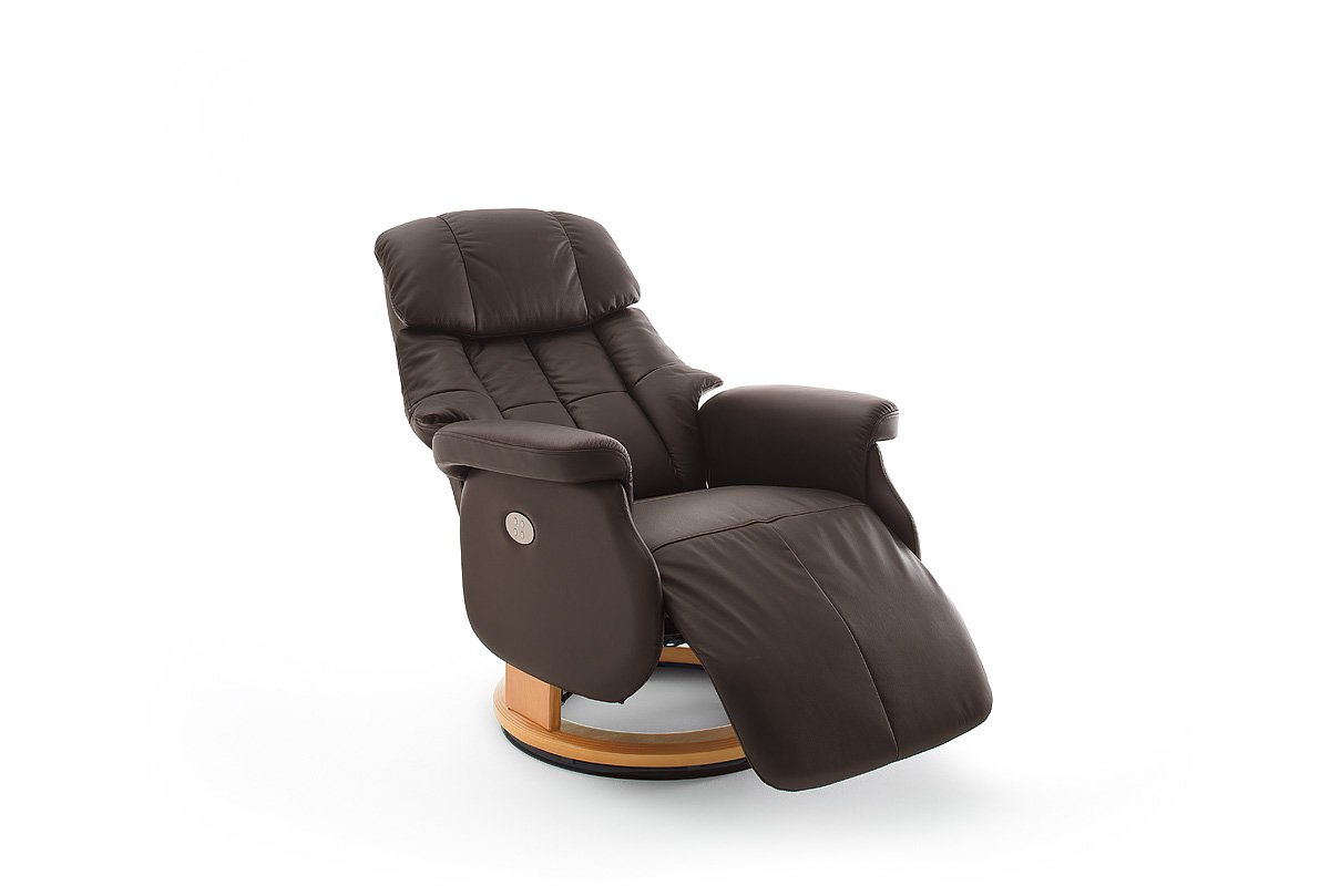 Robas Lund Sessel Relaxsessel Calgary Comfort Xl Leder Braun 86