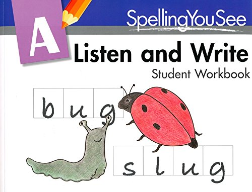 Spelling You See Level A: Listen and Write Student Pack