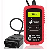 OBD2 Scanner Professional Car Diagnostic Scan Tool and Car Code Reader, Reset Check Engine Light One Click, Fix Car Problems Easily, Read/Clear Fault Codes for All Cars and Trucks-by Foseal