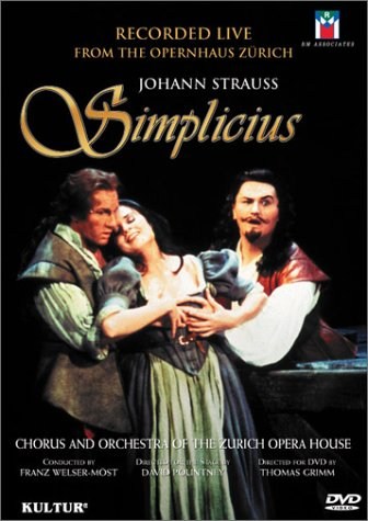 Price comparison product image Johann Strauss - Simplicius / Welser-Most, Volle, Zysset, Zurich Opera House