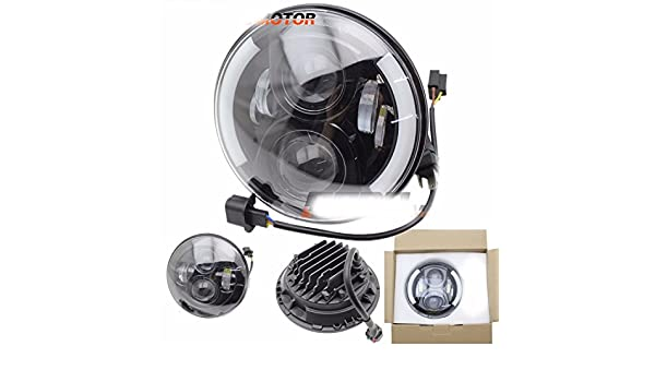 7  OSRAM 60W LED Daymaker Projector Headlight per Harley FLHX FLH FLHT Touring