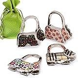 Kyпить BMC 4pc Scotty Dog Theme Shoulder Handbag Folding Purse Holder Hangers Hooks Set на Amazon.com