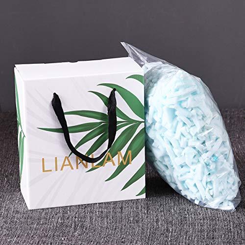 LIANLAM - Adjustable Shredded Gel Memory Foam Fill - 2/5 lb Refill Pillow