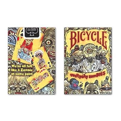 Bicycle 1026323.0 - Jeu De Cartes - Everyday Zombie - Index Petite