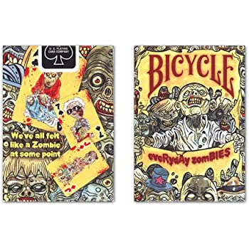 Bicycle Everyday Zombies Playing Cards