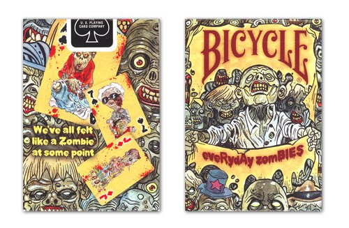 - Bicycle Everyday Zombies Playing Cards