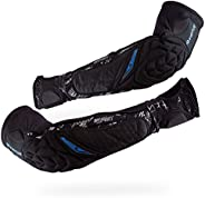 VIRTUE Breakout Elbow and Forearm Pads - Lightweight Multi-Sports Protective Arm Pads with Moisture Wicking Co