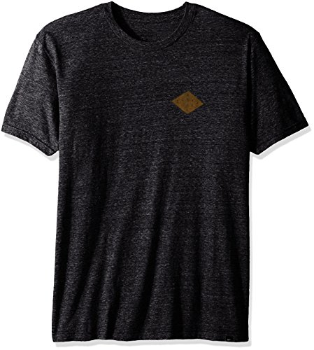Quiksilver Men's Palm Rays T-Shirt, Charcoal Heather, Large