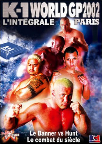 Amazon Com K1 World Gp 2002 The Ultimate In Paris Dvd 2004 Jerome Le Banner Mark Hunt Movies Tv