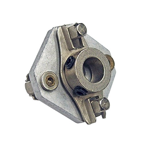 1/4 Inch Flexible Shaft Coupler - Non-insulated - for Amplifier -