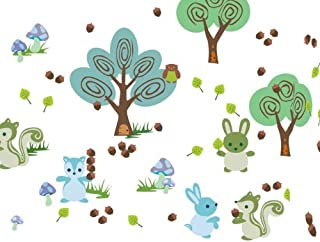 product image for WallCandy Arts Forest Friends Wall Decal Kit