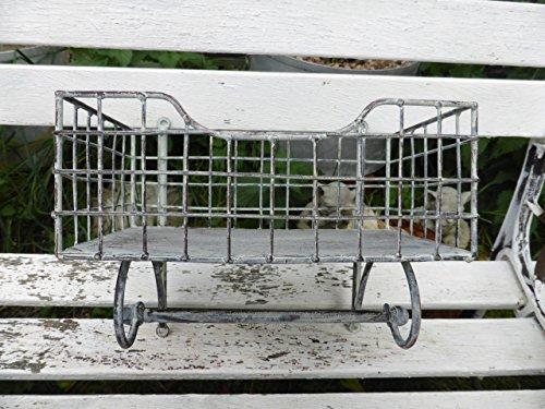 Gris métal avec porte-serviettes avec étagère