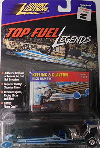 (Top Fuel Dragster Big Daddy Don Garlits (Swamp Rat) 1974 Top Fuel Legends Series by Johnny Lightning)