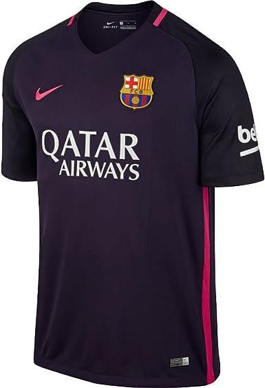 Desconocido Nike FC Barcelona M SS AW Stadium JSY Camiseta de Manga Corta, Hombre: Amazon.es: Ropa y accesorios