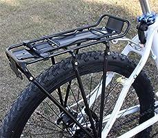 Homieco Portaequipajes para Bicicleta con Bastidor Trasero para ...