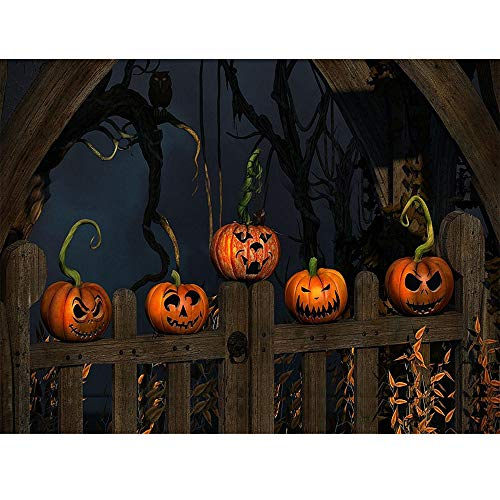 certainPL Halloween 5D Diamond Painting by Number Kits, DIY Crystal Rhinestone Diamond Embroidery Paintings Pictures Arts Craft for Home Wall Decor, Full Drill, Cross Stitch (A)