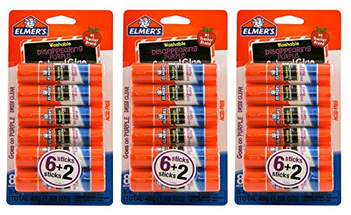 Stick Glue Elmers (Elmer's Non-Toxic Glue Stick, 24-Count)