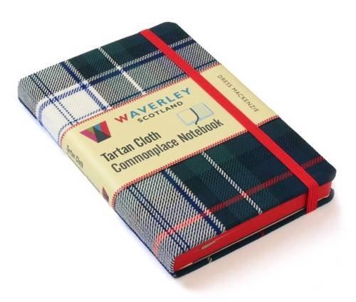 Dress MacKenzie: Waverley Genuine Tartan Cloth Commonplace Notebook