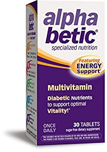 alpha betic Once-Daily Multi-Vitamin Supplement