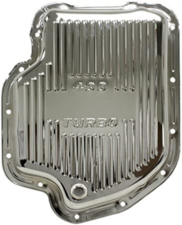 Turbo TH 400 Chrome Transmission Pan Trans TH400 DEEP
