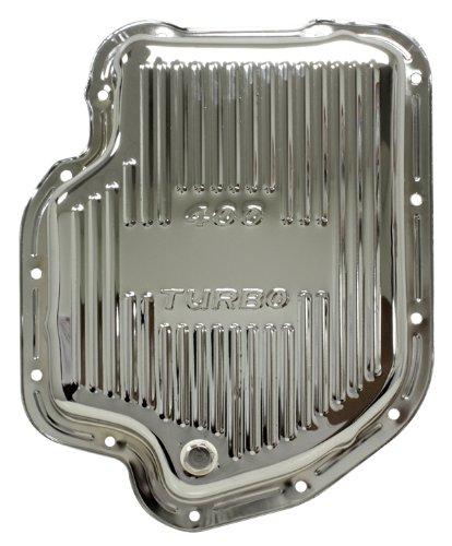 Chevy/mm Turbo TH-400 acero Transmisión cacerola - cromo: Amazon.es: Coche y moto