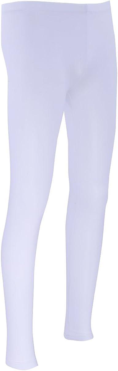 iiniim Herren Lange Unterhosen durchsichtig Leggings Stretch Pants Unterw/äsche Strumpfhose M-XL