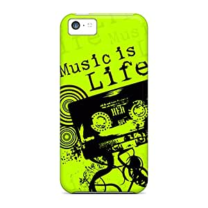 Hot GKeUfgL4533VpSJy Case Cover Protector For Iphone 5c- Music Life