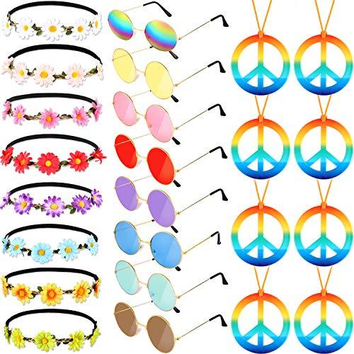 Frienda Sunglasses Necklace Sunflower Hairbands product image