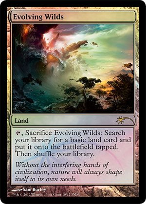 Magic: the Gathering - Evolving Wilds (10) - FNM Promos - Foil
