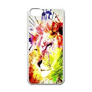 Lion Original New Print DIY Phone Case for Iphone 5C,personalized case cover ygtg541241 by runtopwell