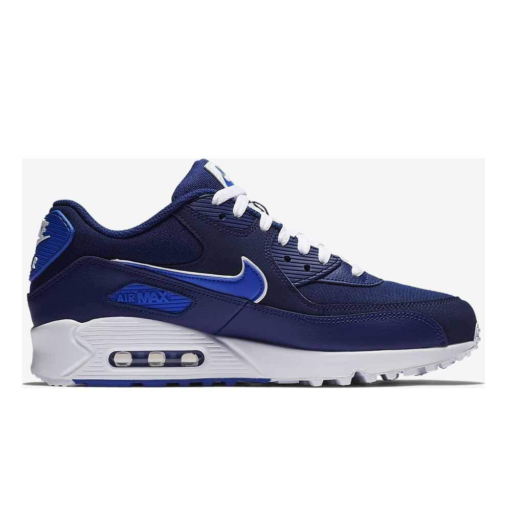 online store 9ab8d 2d9dd Nike Air Max 90 Essential Men's Shoes Blue Void/Game Royal/White aj1285-401  (10 D(M) US)