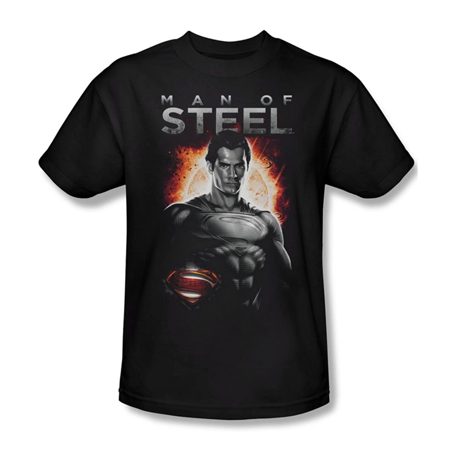 Man Of Steel - Mens Steel T-Shirt