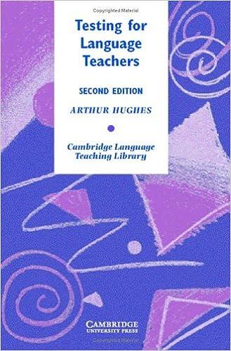 E-kirjat ilmaiseksi ladattaviksi Testing for Language Teachers (Cambridge Language Teaching Library) PDF
