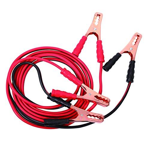 [해외]Uriah 제품 UV008610 부스터 점퍼 케이블-10 게이지 구리 Cladded 12 피트 / Uriah Products UV008610 Booster Jumper Cable-10 Gauge Copper Cladded 12 Feet