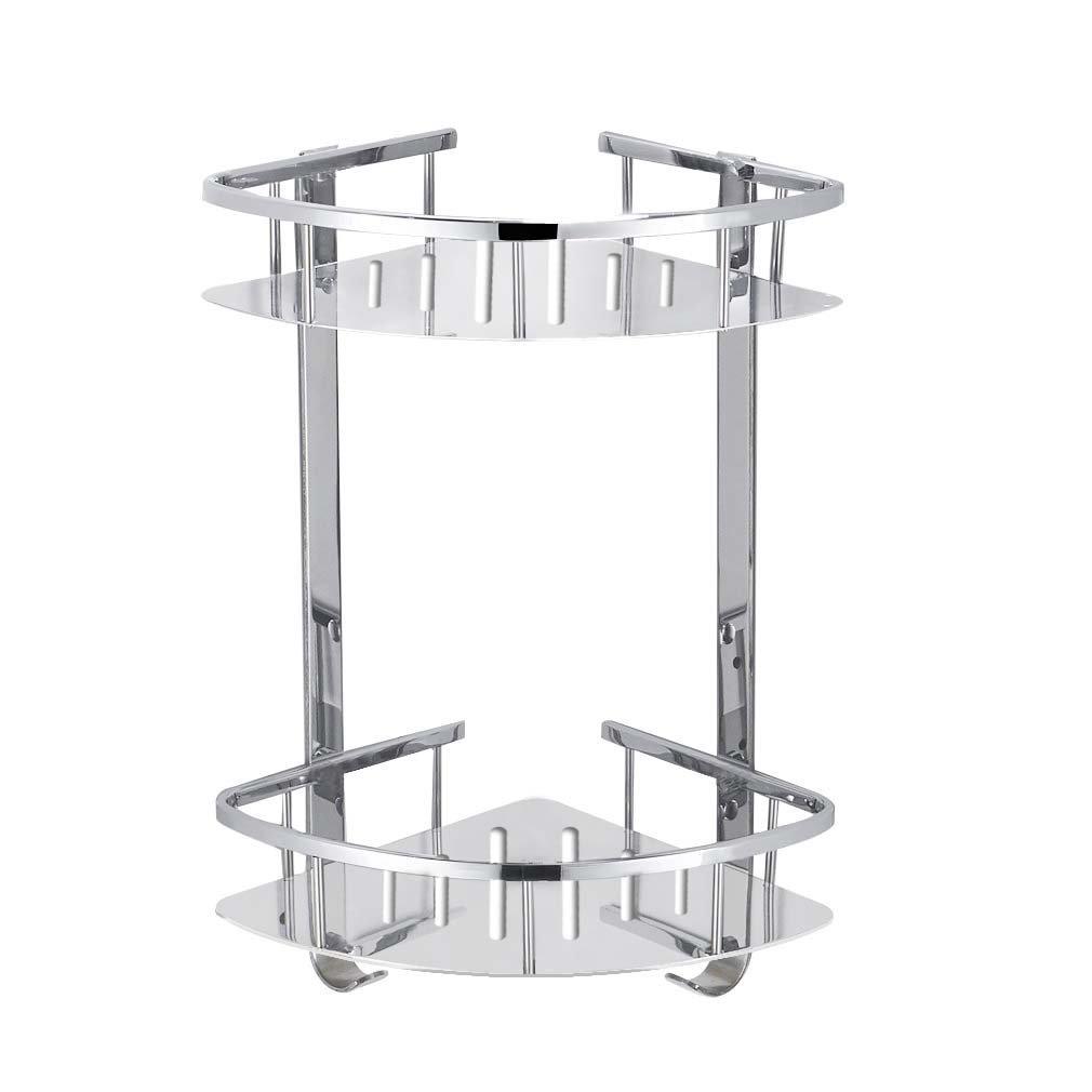 Foccoe Bathroom Shower Shelf Stainless Steel Shower Storage ...