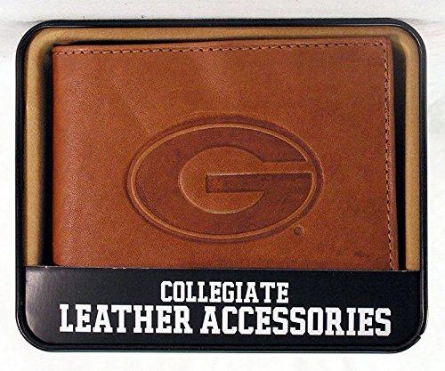 georgia bulldog purse leather - 5
