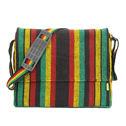 PINZON Messenger Bag Boys Schoolbag for Girls School Bag Satchel Fair Trade for Men Women Hippie Accessories Cross Body Shoulder Bag Denim 13