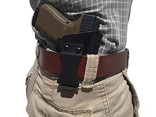 Exos Gun Belt, English Bridle Leather, 14 Ounce - Stainless Steel Hardware - Handmade in The USA