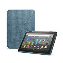 Amazon Fire HD 8 Cover, compatible with 10th generation tablet, 2020 release, Twilight Blue