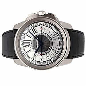 Cartier Calibre de Cartier mechanical-hand-wind mens Watch W7100005 (Certified Pre-owned)
