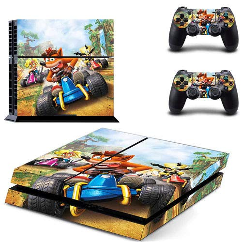 shooter game - PS4 Skin Console and 2 Controller, Vinyl Decal Sticker Full Cover Protective by Oidoioi