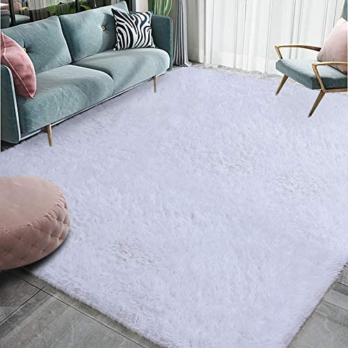 Homore Luxury Fluffy Area Rug Modern Shag Rug