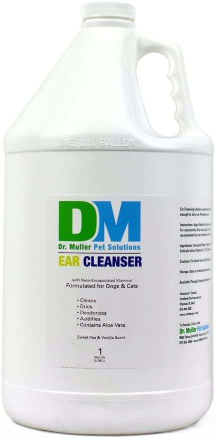 Dr. Muller Ear Cleanser Sweet Pea & Vanilla for Dogs & Cats