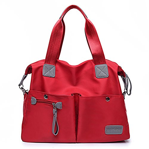 ToLFE Women Top Handle Satchel Handbags Tote Purse Shoulder Bags Nylon Waterproof Top Bag
