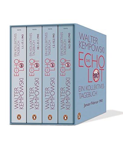 Das Echolot: Ein kollektives Tagebuch. Januar/Februar 1943 Taschenbuch – 12. September 2016 Walter Kempowski Penguin Verlag 3328100768 1940 bis 1949 n. Chr.