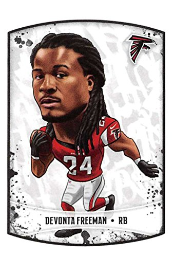 - 2018 Panini NFL Stickers Collection #334 DeVonta Freeman Atlanta Falcons Fathead Official Football Sticker