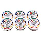 Hygloss 4816 Kids Unscented Dazzling' Modeling Play Dough, One of Each Color (6 Pack), 1lb, Assorted