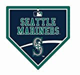 "Seattle Mariners MLB 9.25"" x 9.25"" Home Plate Street Sign"