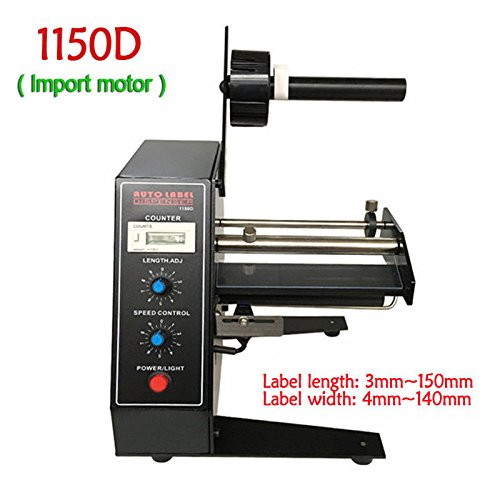 110V Automatic Label Separator Dispenser Machine with Import Motor 1-8m/min - Upgrade Version